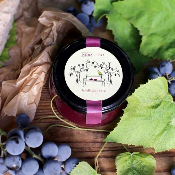 Izabella szőlő lekvár