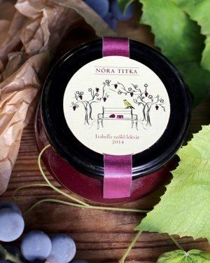Izabella szőlő lekvár 2016
